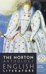 Norton Anthology Of English Literature Package 1