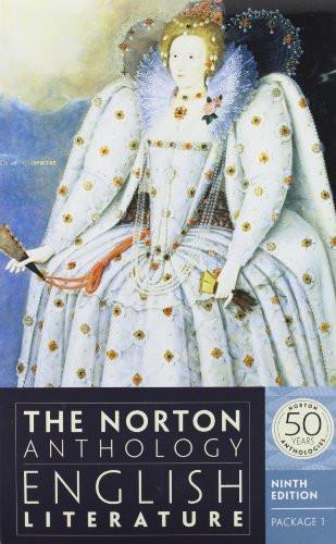 Norton Anthology Of English Literature Package 1