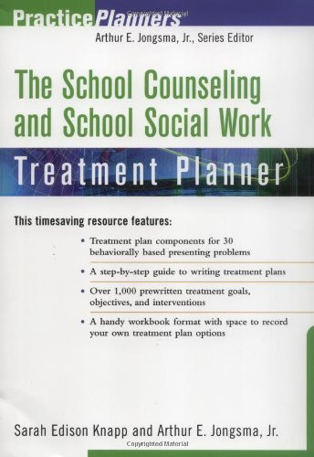 School Counseling And School Social Work Treatment Planner