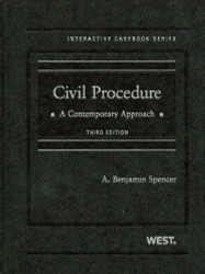 Civil Procedure A Contemporary Approach
