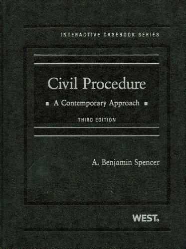 Civil Procedure A Contemporary Approach