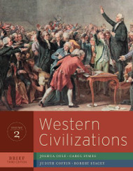 Western Civilizations Brief Edition Volume 2