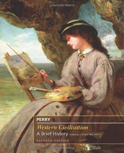 Perry Western Civilization Brief Volume 2