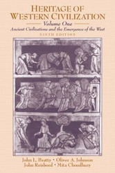 Heritage Of Western Civilization Volume 1