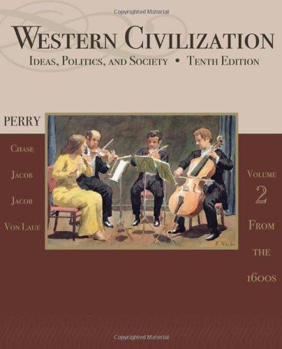 Western Civilization Volume 2 From 1600