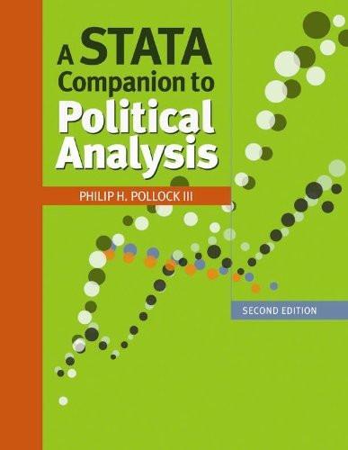 Stata Companion To Political Analysis