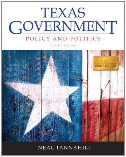 Texas Government Policy And Politics