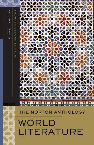 Norton Anthology Of World Literature Shorter Second Edition