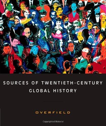 Sources Of Twentieth-Century Global History