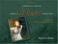 Anthology Of Scores To A History Of Music In Western Culture Volume 2