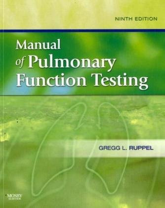 Ruppel's Manual Of Pulmonary Function Testing