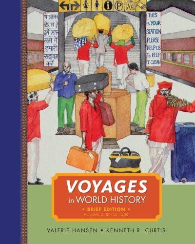Voyages In World History Volume 2 Brief
