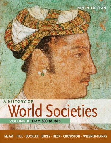 History Of World Societies Volume B