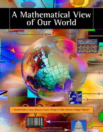 Mathematical View Of Our World
