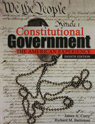 Constitutional Government by CURRY JAMES