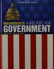 Magruders American Government 2011 Grade 11/12   by William A. McClenaghan