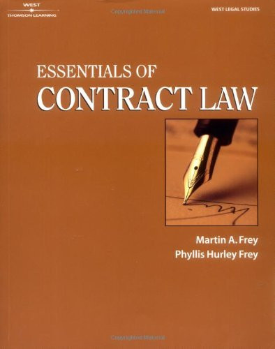 Essentials Of Contract Law