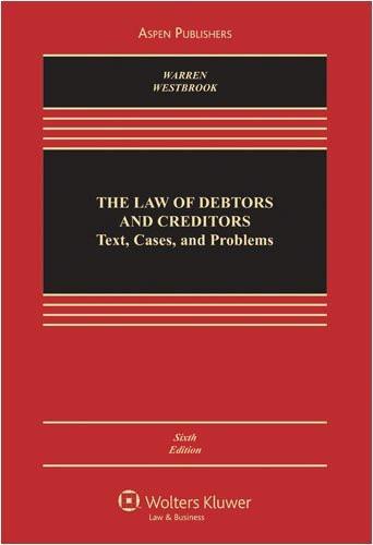 Law Of Debtors And Creditors
