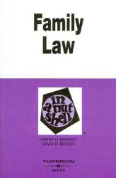 Family Law In A Nutshell