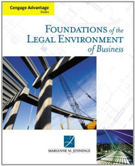 Foundations Of The Legal Environment Of Business