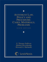 Antitrust Law Policy and Procedure