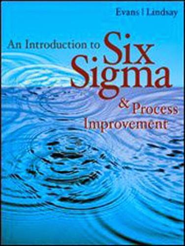 Introduction To Six Sigma & Process Improvement