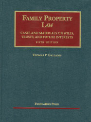 Family Property Law Cases And Materials