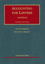 Herwitz And Barrett's Accounting For Lawyers