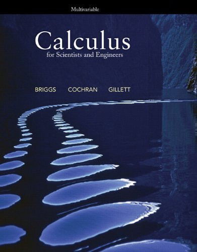 Calculus For Scientists And Engineers Multivariable