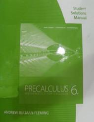 Student Solutions Manual For Stewart/Redlin/Watson's Precalculus
