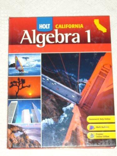 Algebra 1 California Algebra 1
