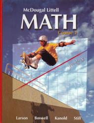 Mcdougal Littell Math Course 1