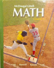 Math Course 3 Student Edition 2007