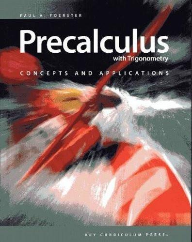 Precalculus with Trigonometry