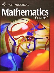 Mcdougal Mathematics Course 1 Student Edition by Holt Mcdougal