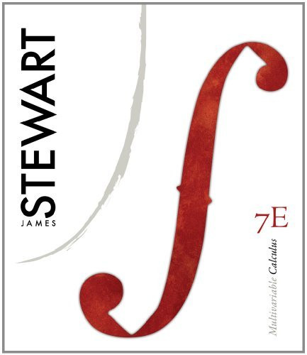 Student Solutions Manual (Chapters 10-17) For Stewart's Multivariable Calculus 7Th