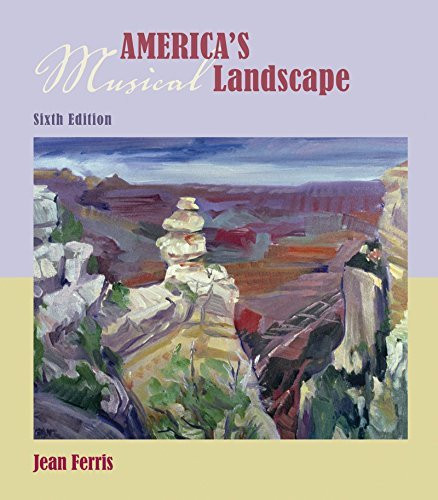 Audio CD set for use with America's Musical Landscape