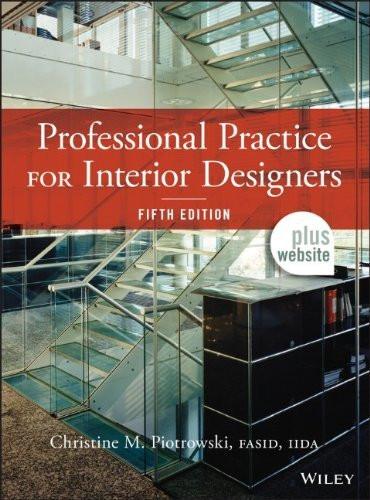 Professional Practice For Interior Designers
