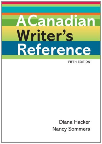 Canadian Writer's Reference