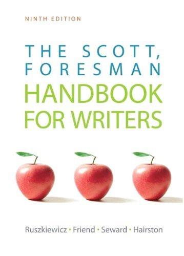 Scott Foresman Handbook For Writers