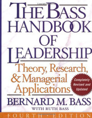 Bass Handbook Of Leadership