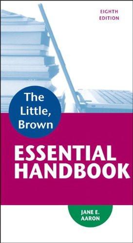 Little Brown Essential Handbook