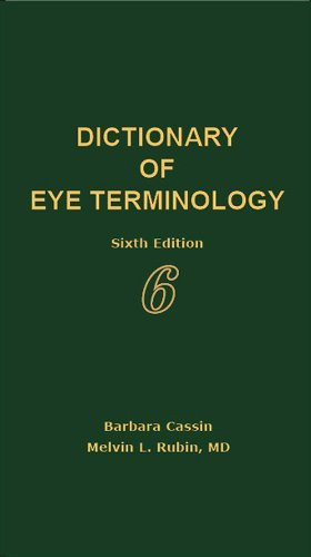 Dictionary Of Eye Terminology