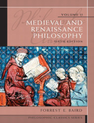 Philosophic Classics Volume 2 Medieval And Renaissance Philosophy