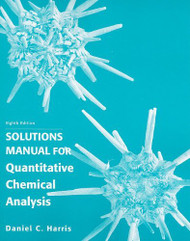 Quantitative Chemical Analysis Solutions Manual