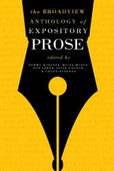 Broadview Anthology Of Expository Prose