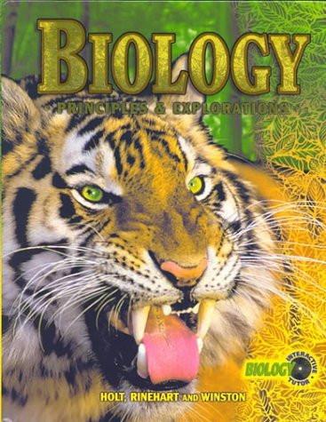 Biology Principles And Explorations Grades 9-12