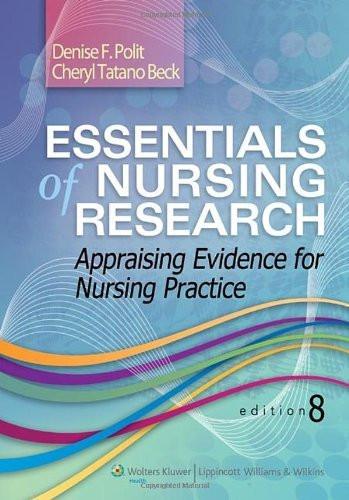 Essentials Of Nursing Research