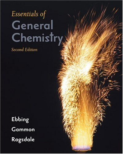 Essentials Of General Chemistry