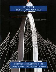 Student Solutions Manual For University Physics Volume 1